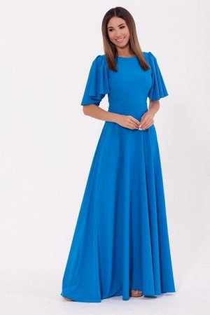 Платье 989 Морская волна/Голубой