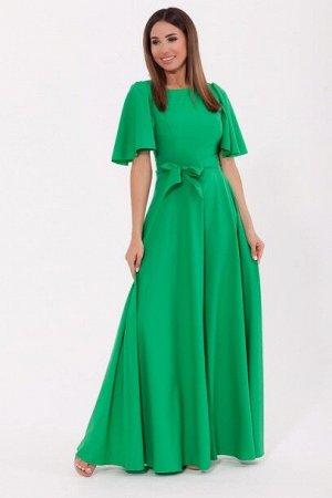 Платье 989 Яблоко/Ярко-зеленый