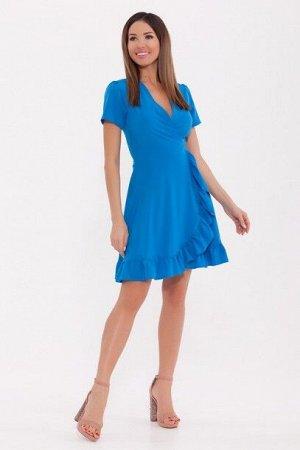 Платье 820 Морская волна/Лазурный