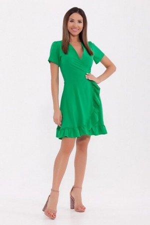 Платье 820 Яблоко\Ярко-зеленый