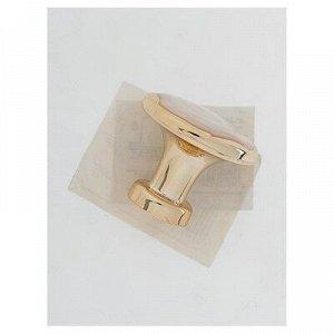 Ручка кнопка РК018GP, цвет золото
