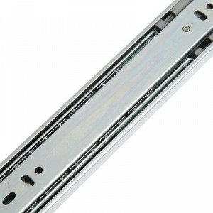 Шариковые направляющие FGV, система Push to Open, L=400 мм, H=45 мм, 2 шт. в наборе