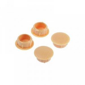Заглушки декоративные12 мм, цвет сосна, 30 шт.