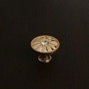 Ручка кнопка РК116GP, цвет золото