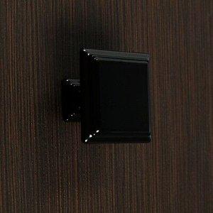 Ручка кнопка РК119BL, черная