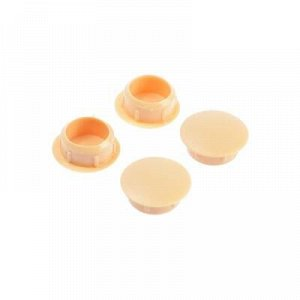Заглушки декоративные14 мм, цвет сосна, 30 шт.