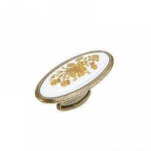 Ручка кнопка РК023AB, цвет бронза