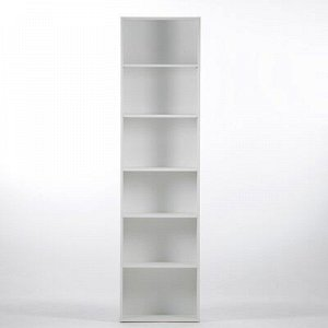 Стеллаж Лофт 1900 6 ниш, 1916х244х500, Белый