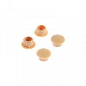 Заглушки декоративные 8 мм, цвет сосна, 35 шт.
