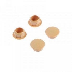 Заглушки декоративные10 мм, цвет сосна, 35 шт.