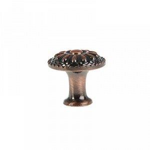 Ручка кнопка РК112, цвет медь