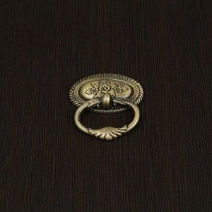 Ручка кнопка VINTAGE 023, цвет бронза
