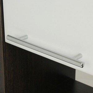 Пенал Венге 30 Венге/Белое 30 х 25,5 х 190 см