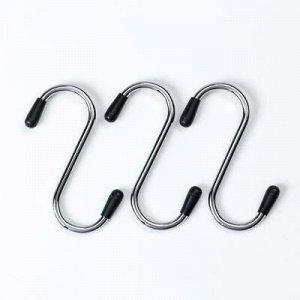 Набор крючков для рейлинга, d=2 см, 3 шт