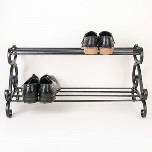 Подставка для обуви «Аскания», 2 яруса, 70?33 см