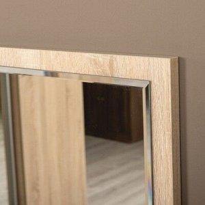 Зеркало Глория 2, 392х24х752, Дуб сонома