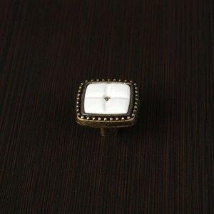 Ручка кнопка РК022AB, цвет бронза