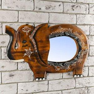 """Панно зеркальное """"Слон"""" 1,5х33х60 см"""