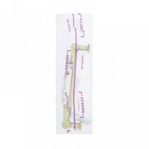 Ручка-скоба с фарфором SF01-04, 96мм, бронза