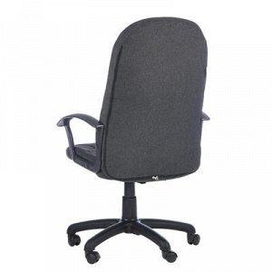"""Кресло офисное """"Соты"""", серое, с подлокотниками"""