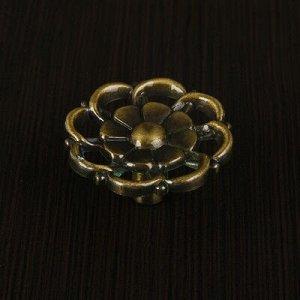 Ручка кнопка РК011AB, цвет бронза