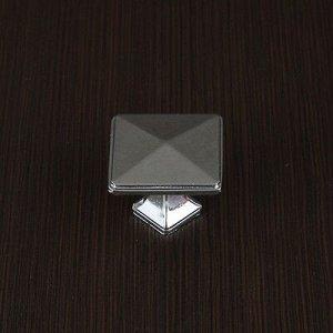 Ручка кнопка РК017CP, цвет хром