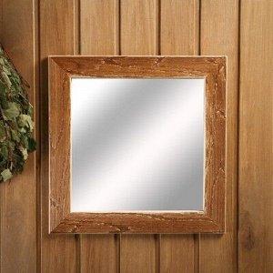 """Зеркало настенное """"Старина"""" для бани, 38?38 см"""