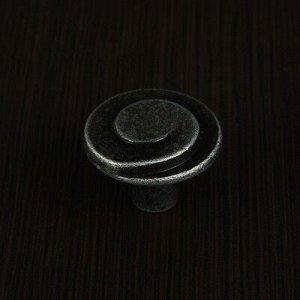 Ручка кнопка РК013ZP, цвет цинк