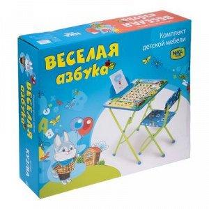 Набор мебели «Весёлая азбука», стол, стул мягкий, пенал