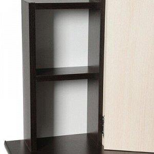 Стол косметический Диана, 1550х900х480, Венге/Дуб молочный