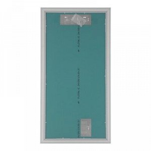 Зеркало «Милана», настенное, белый багет, 60?120 см,рама пластик, 51 мм