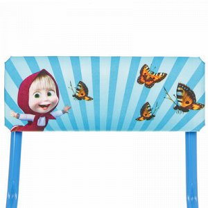Набор мебели «Азбука 2. Маша и Медведь», стол, стул мягкий