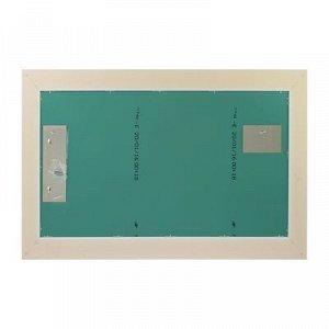 Зеркало «Престиж», настенное белое, 63?110 см