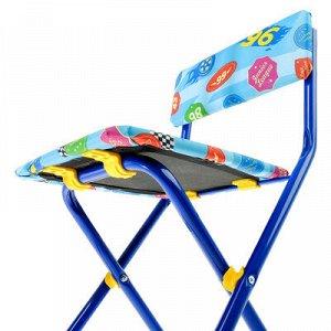 Набор мебели «Познайка. Большие гонки», складной, мягкий стул, 3 – 7 лет, цвет стула МИКС