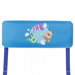 Набор детской мебели «Познайка. Математика в космосе» складной, цвета столешницы МИКС