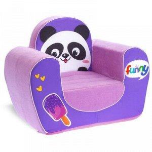 Мягкая игрушка-кресло «Панда»