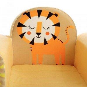 Мягкая игрушка «Кресло Лев», цвет песочный
