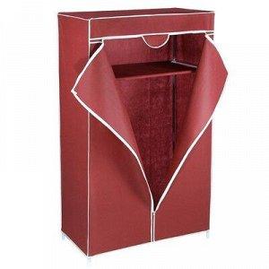 Шкаф для одежды 90?45?145 см, цвет бордовый