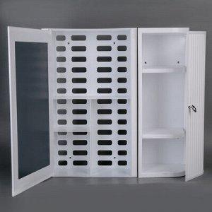 Набор для ванной комнаты Hilton Premium Right, цвет белый