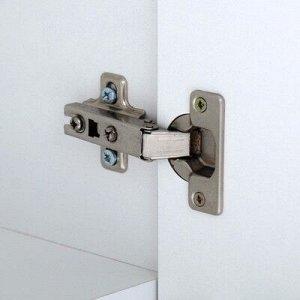 Зеркало-шкаф Вега 5502 белое, 55 х 13,6 х 70 см