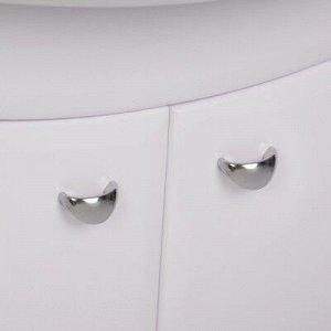 Комплект мебели Тура 60: тумба с раковиной + шкаф-зеркало