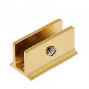 """Крепление полки """"8908"""" большой, цвет золото"""