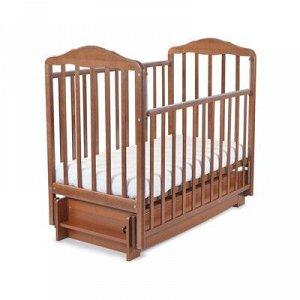Кровать детская Берёзка с маятником и ящиком
