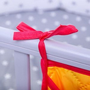 Органайзер на кроватку,размер 47*30,оксфорд,чтежка,цв.желтый