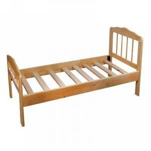 Детская кроватка «Непоседа-2», 140 см ? 63 см ? 21 см., массив берёзы, цвет светлый