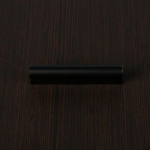 Ручка скоба РС128, м/о 64 мм, черная