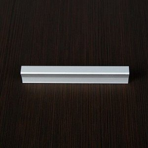 Мебельная ручка РС129, размер 96 мм, цвет матовый хром