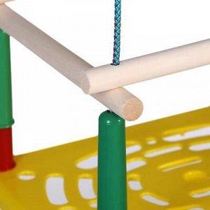 Качели детские подвесные, пластмассовые, сиденье 33?22см