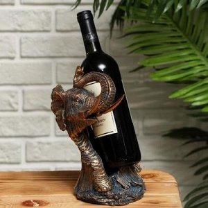 """Подставка для бутылки """"Слон"""" 16,5x15.2x26см"""