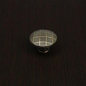 Ручка кнопка РК202, цвет бронза